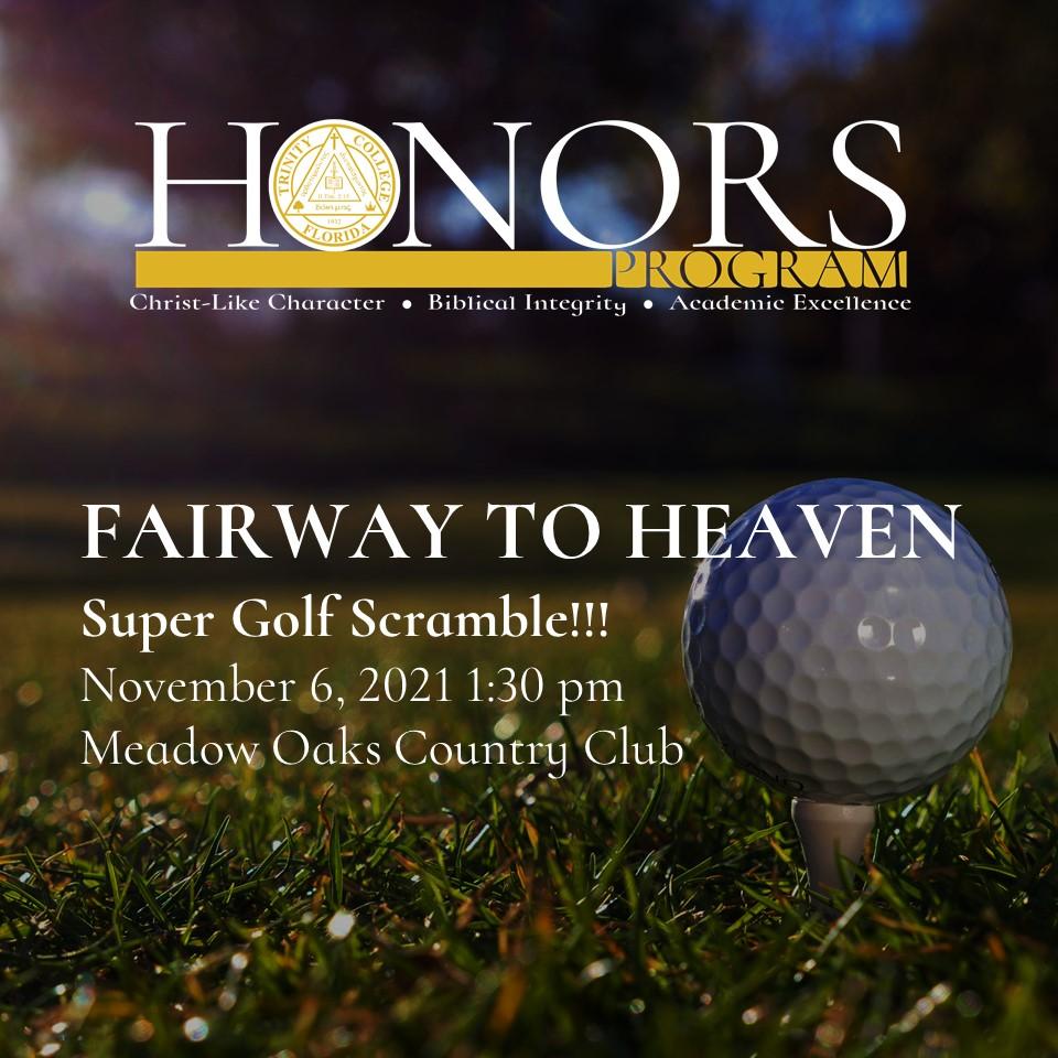 honors program golf fundraiser